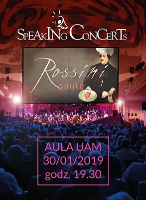 Rossini Saute Speaking Concerts